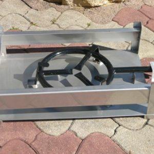 Bâti inox 50×40 cm